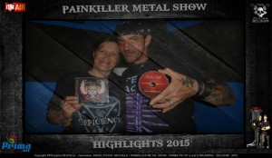 Painkiller Metal Show on Radio - highlight with Darkness Light